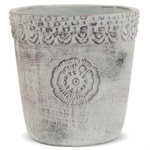 osłonka na doniczkę ceramika naturalna