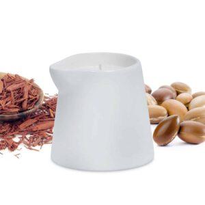 naturalna świeca sojowa do masażu